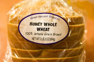 "Great Harvest Bread Co. ""Honey Whole Wheat"""