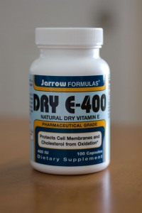 Jarrow Formulas Dry E-400 does not contain soy!
