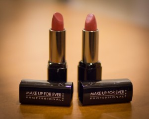 Make Up For Ever lipstick is tocopherol-free.