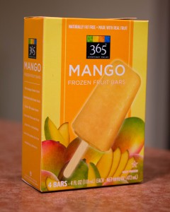 365 Mango Frozen Fruit Bars