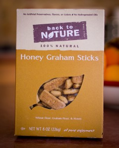 Back to Nature Honey Graham Sticks