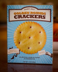 Trader Joe's Golden Rounds Crackers