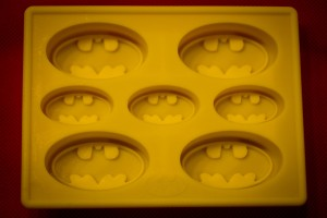 Batman Silicone Ice Cube Tray