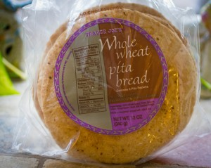 Whole Wheat Pita Bread from Trader Joe's