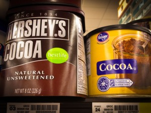 Hershey's and Kroger 100% Cocoa